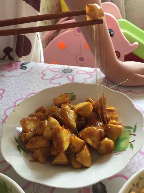 khoai lang, dạy nấu ăn