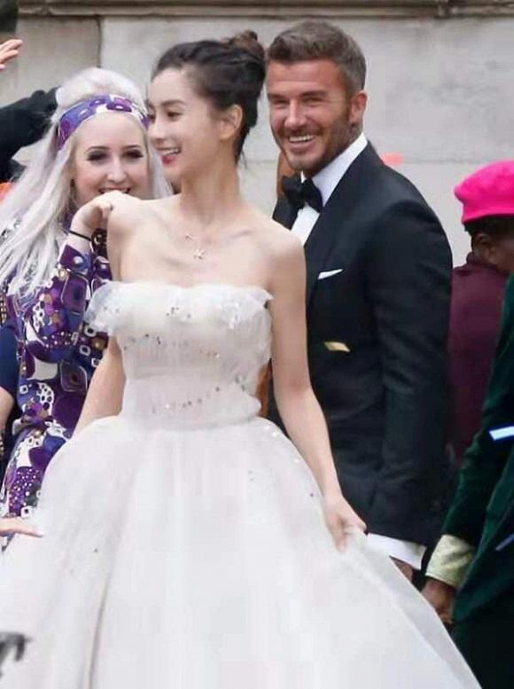 Victoria Beckham, Angelababy, David Beckham