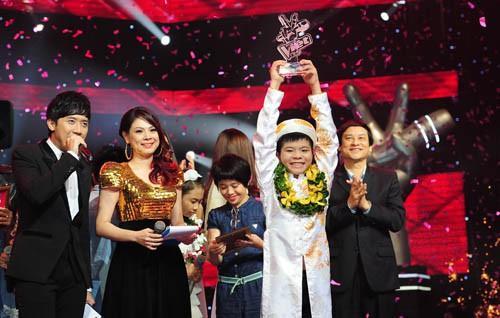 Quang Anh, quán quân Giọng hát Việt nhí 2013, sao việt