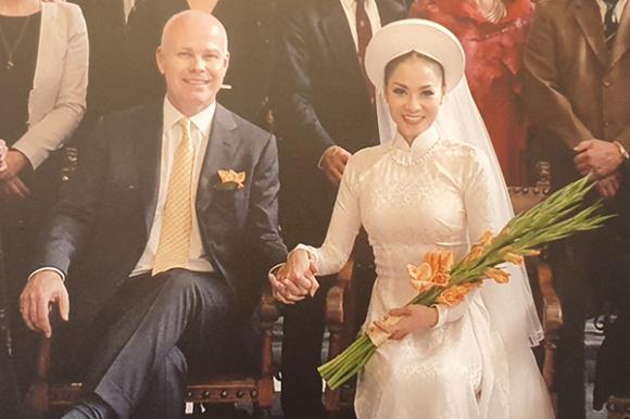 Thu Minh,ảnh cưới của Thu Minh,con trai Thu Minh,sao Việt
