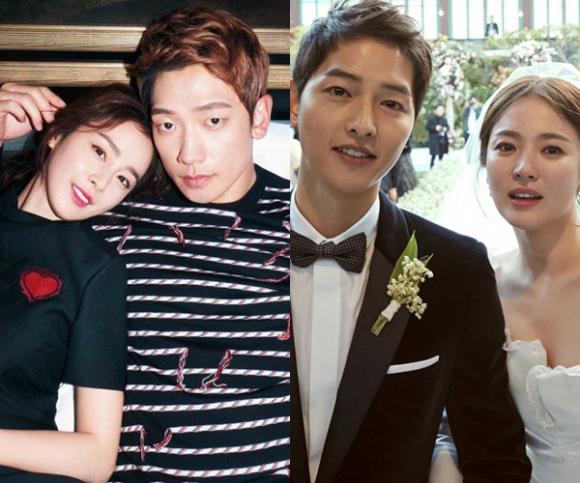 Kim Tae Hee,Bi Rain,Song Hye Kyo,sao Hàn