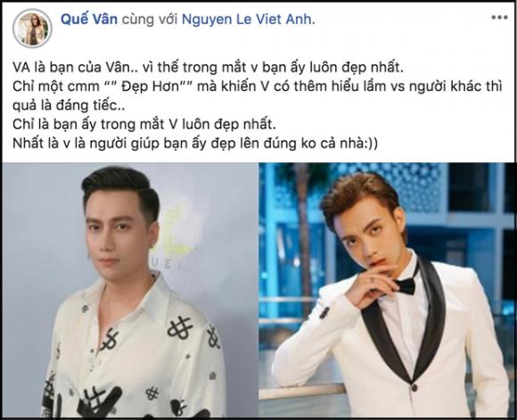 quế vân, Việt Anh, sao Việt