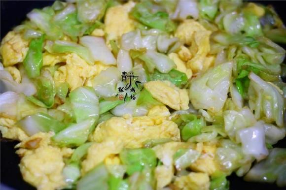 món ngon mỗi ngày, Công thức trứng xào bắp cải, món ngon với trứng