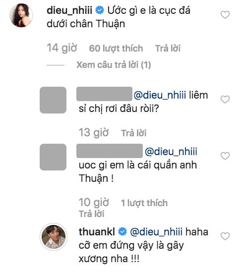 Isaac, Diệu Nhi, Thuận Nguyễn, sao Việt
