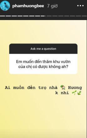 Hoa hậu Phạm Hương, khu vườn của Phạm Hương, sao Việt