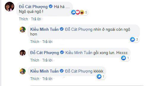 Kiều Minh Tuấn, Cát Phượng, sao Việt