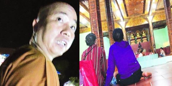 Đại đức Thích Thanh Toàn, trụ trì chùa Nga Hoàng, nhà sư gạ tình phóng viên, chùa Địa Ngục