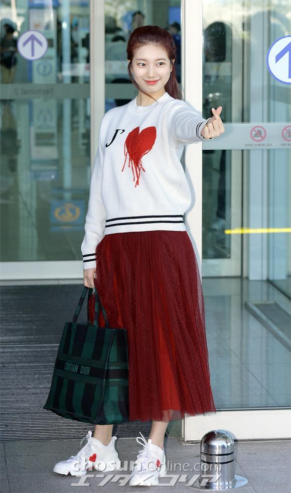 Suzy, thời trang Suzy, sao Hàn