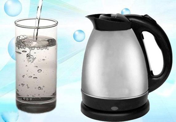 nước đun sôi, uống nước tốt, sức khỏe