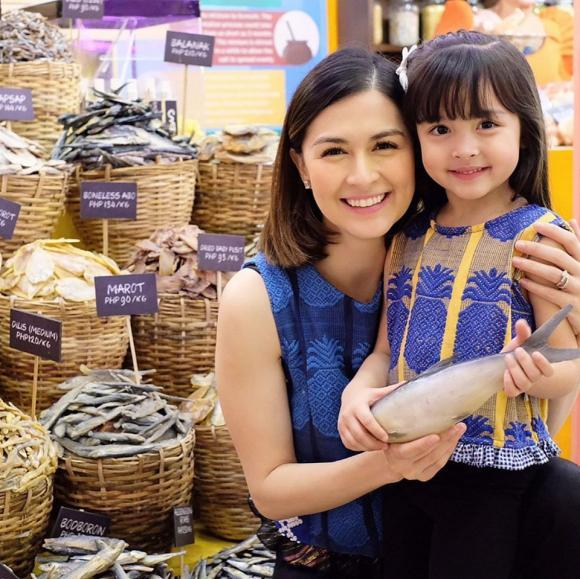 marian rivera, mỹ nhân đẹp nhất philippines, con gái marian rivera, con trai marian rivera