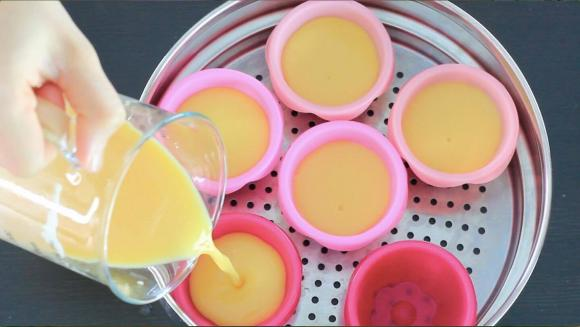 cách làm trứng đậu nành hấp, món ngon mỗi ngày, trứng đậu nành hấp