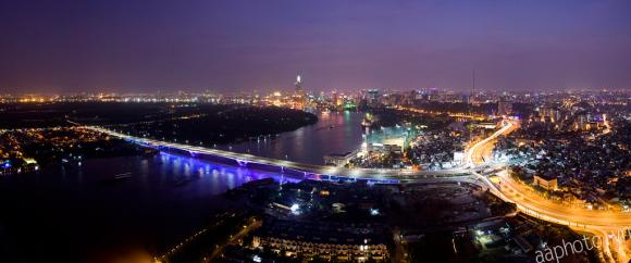 Tuyệt tác: 10 bùng binh sống động nhất Sài Gòn về đêm!