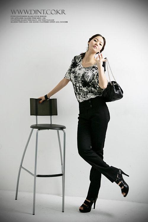 Sành điệu với quần cạp cao cho nữ công sở