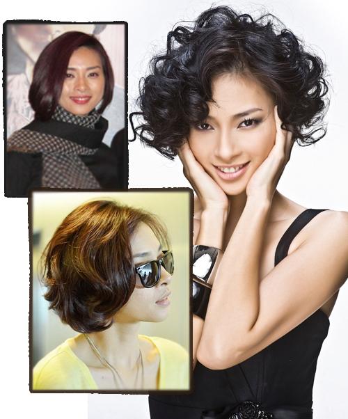 Cắt tóc ngắn đẹp như Sao Việt