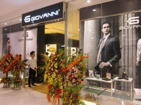 Showroom Giovanni lớn nhất tại Việt Nam