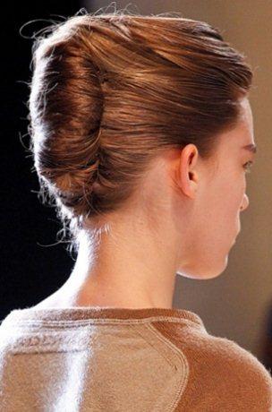 Tạo kiểu tóc búi hợp xu hướng