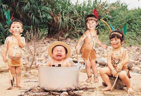 Những hình ảnh hài hước ngộ nghĩnh của các bé