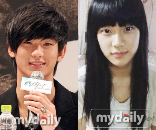 Kim Soo Hyun đã từng xinh kỳ lạ như con gái