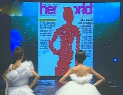 Video toàn cảnh đăng quang của Tân Vietnam's Next Top Model - Hoàng Thuỳ