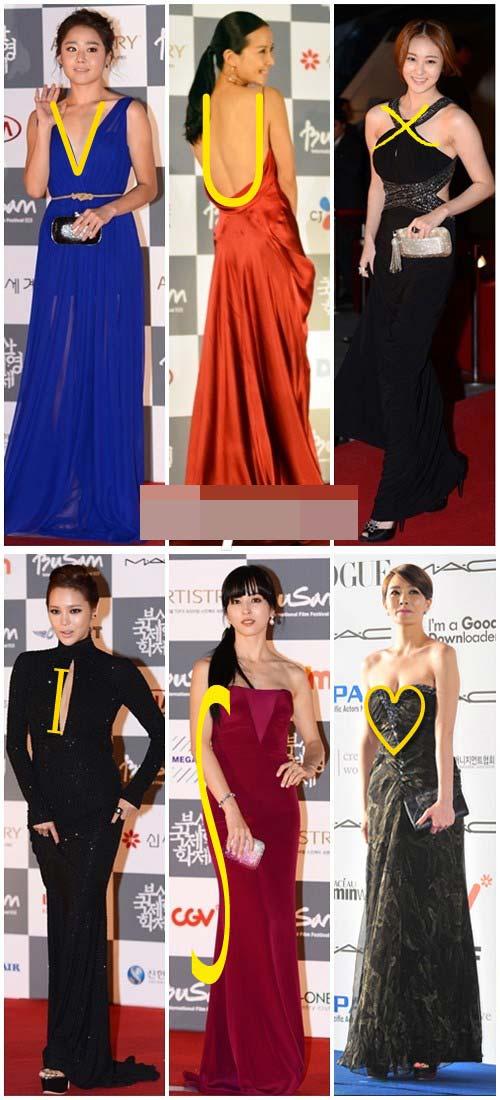 Khám phá các dáng váy phổ biến trên thảm đỏ xứ Kim chi