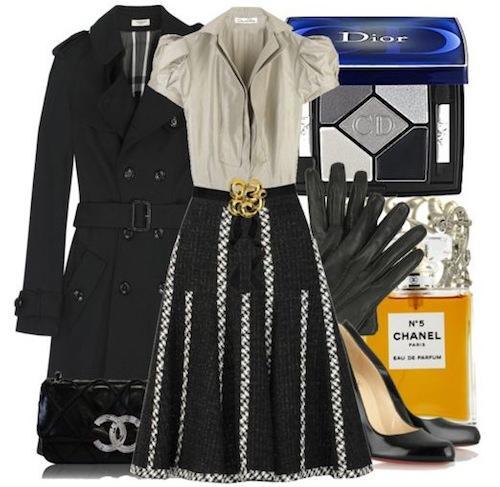 Mặc váy xòe cổ điển và ngọt ngào như Hà Hồ