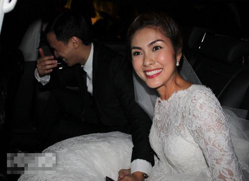 Tăng Thanh Hà mặc váy cưới 67 triệu? - 7