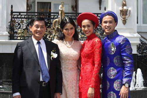 Tăng Thanh Hà được mừng cưới bao nhiêu tỷ?