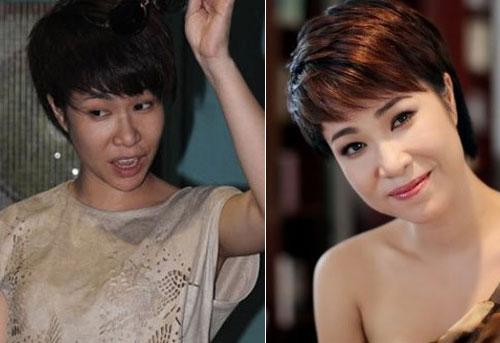Kiều nữ Việt xuống sắc thảm hại khi không trang điểm