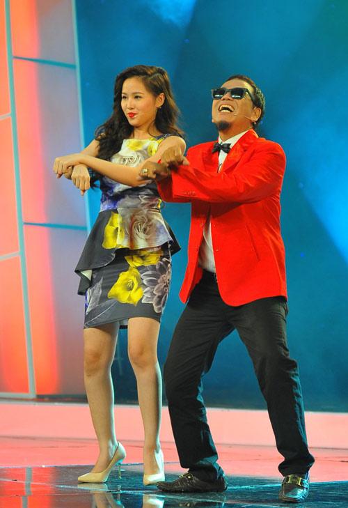 Tâm Tít nhảy Gangnam Style cực sung