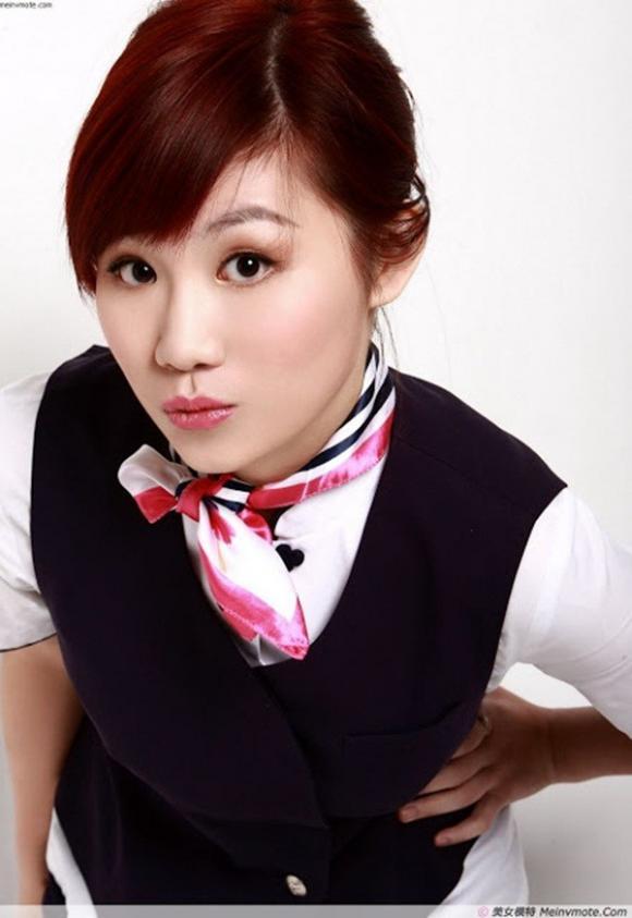 10 nữ tiếp viên hàng không hot nhất Trung Quốc 12