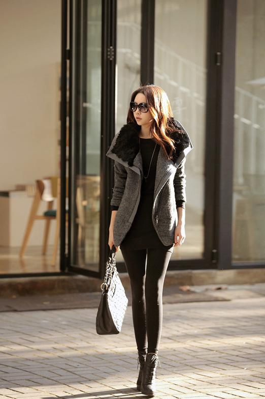 Những mẫu áo dạ đang được ưa thích mùa đông này