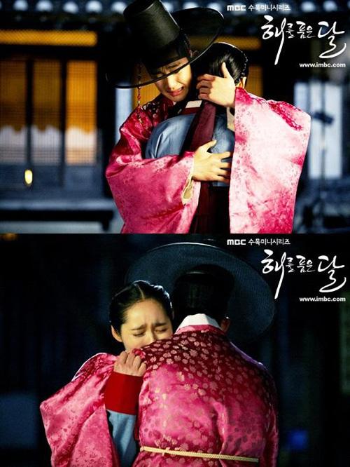 Các kiểu ôm của sao Hàn trên màn ảnh