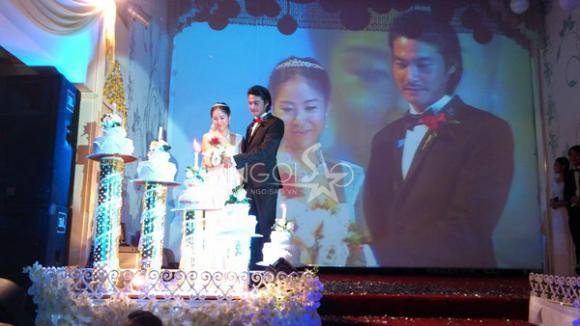 Ảnh nóng về đám cưới Quách Ngọc Ngoan - Lê Phương