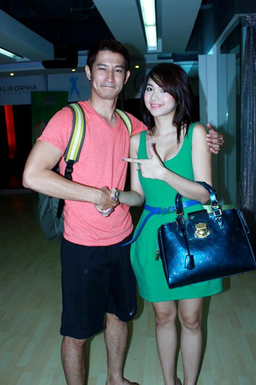 Những mỹ nhân đã qua tay Huy Khánh