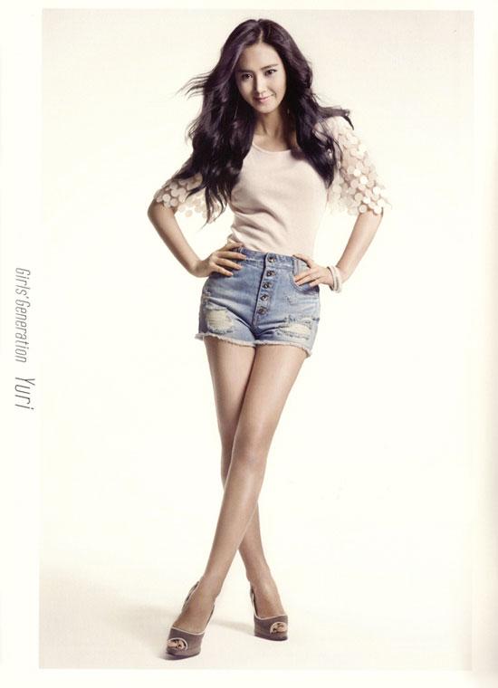 Yuri (SNSD) có hình thể đẹp nhất trong các nhóm nhạc nữ