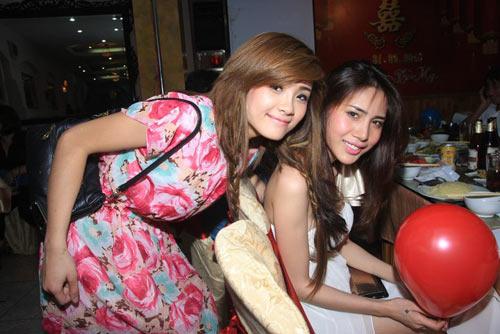 Những cô em gái nổi tiếng của sao Việt