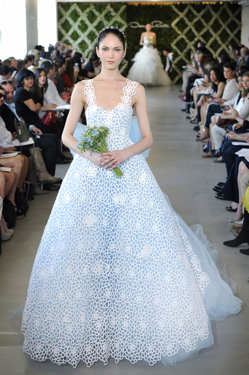 Những xu hướng váy cưới mới nhất 2012/2013