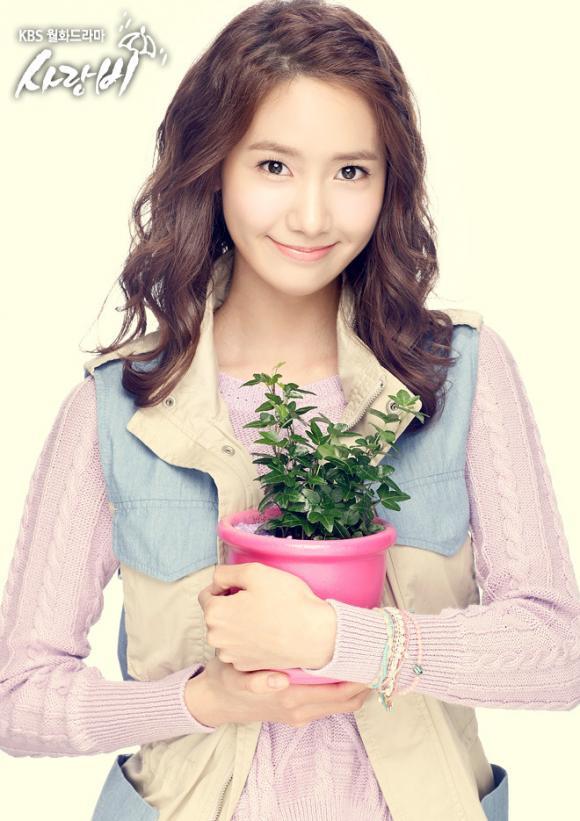 Ảnh thời thơ ấu của Yoona được dùng trong 'Love rain'