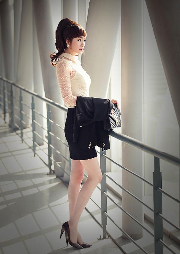 Áo ren thời trang cho cô nàng tiểu thư