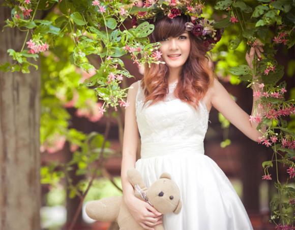 Hot girl Việt đẹp như búp bê baby