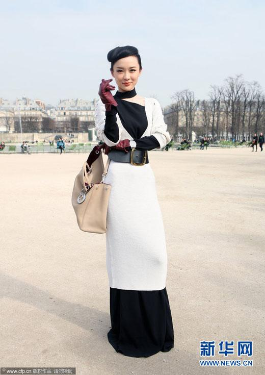 Sao Hoa ngữ quyến rũ với sắc đen trắng