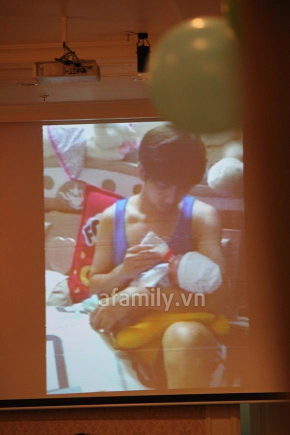 Rò rỉ ảnh con trai Trương Quỳnh Anh và Tim