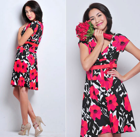 Chọn váy liền thân duyên như Tăng Thanh Hà