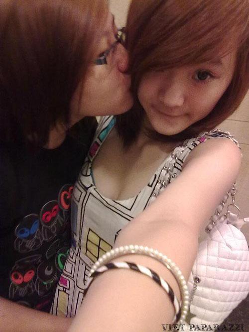 Lộ bằng chứng em gái Angela Phương Trinh là đồng tính?