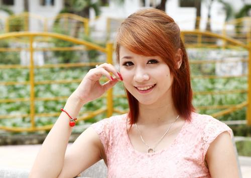 Ngắm nữ sinh Facelook có gương mặt kiểu Hàn Quốc