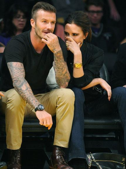 Victoria Beckham điếng người trước tin chồng ngoại tình