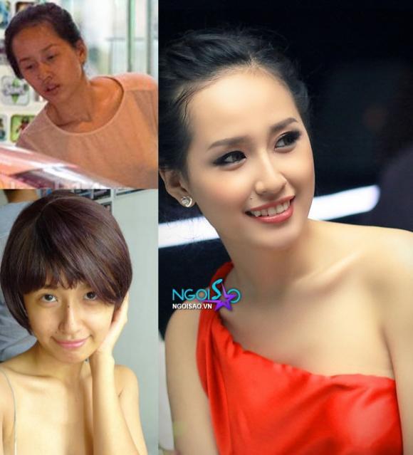 Bàng hoàng trước 'mặt thật - mặt giả' của mỹ nhân Việt