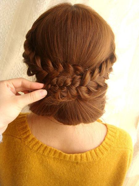 Học cách tết tóc xinh như nữ thần