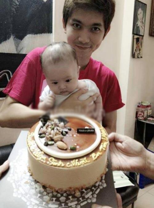 Ngắm con trai nhà Tim và Trương Quỳnh Anh