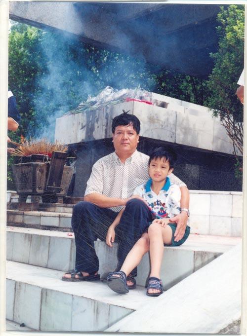 Ảnh thơ ấu của Bùi Anh Tuấn